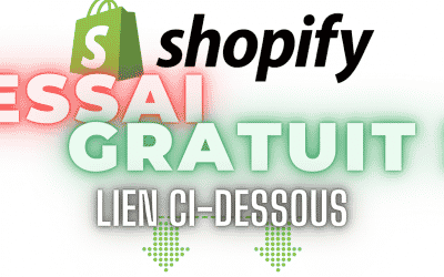 Shopify Gratuit 90 jours et 100% en Français!