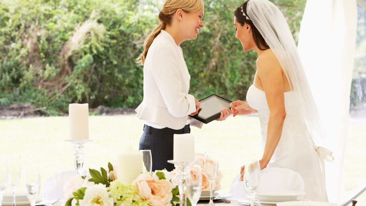 Organisateur ou organisatrice de mariage