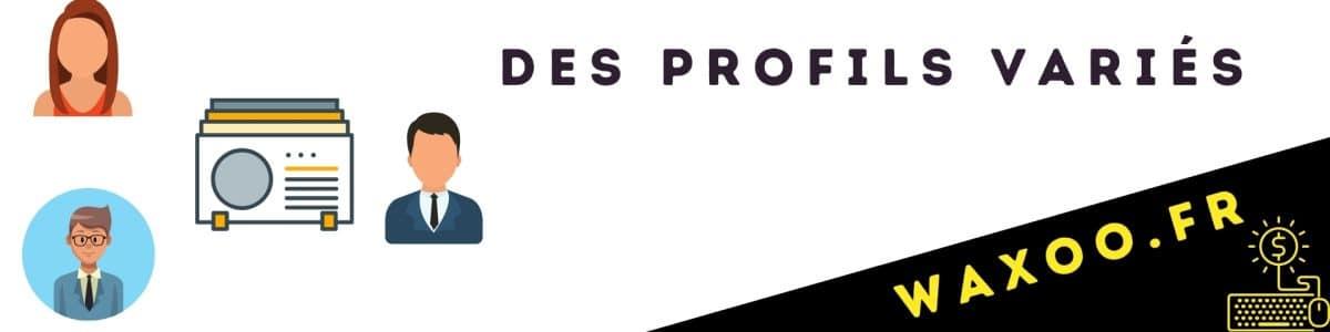 Degiro, Bourse des profils variés